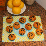 breakfast muffins make our mornings sunny and bright on our super cute cutting board from meandredesign.com!