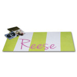 Personalized Beach Towels Offer Poolside Style
