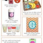 Save 20% on all monogram products through August 24