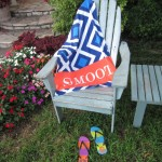 Beach Worthy Accessories: Personalized Towels