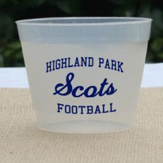 NOTE: personalization text is used on side 2 of cups. personalization color used for all printed areas.
