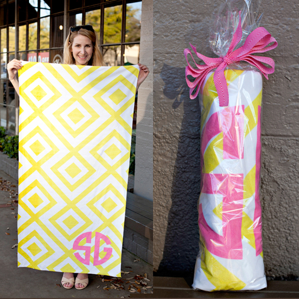 me&re wrapped towel and open towel dosaygive blog square image