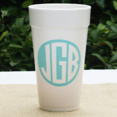 NOTE: cups are printed in one color. personalization will be printed using your chosen personalization color.