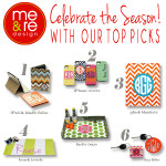 HO HO HO! me&re design's top picks for the holidays include new custom monogrammed blankets, beach towels and key fobs!