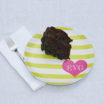 a fabulous valentine's day is a piece of cake with our custom monogrammed valentine plates!