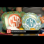 Watch the video for KXTD's D: The Broadcast! meandredesign.com had a blast at the taping of their segment on monograms!