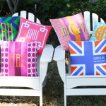 Monogrammed pillows are NEW from me&re design