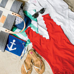 Southern Living's Beach Bag Essentials Include a Monogram Beach Towel from me&re design